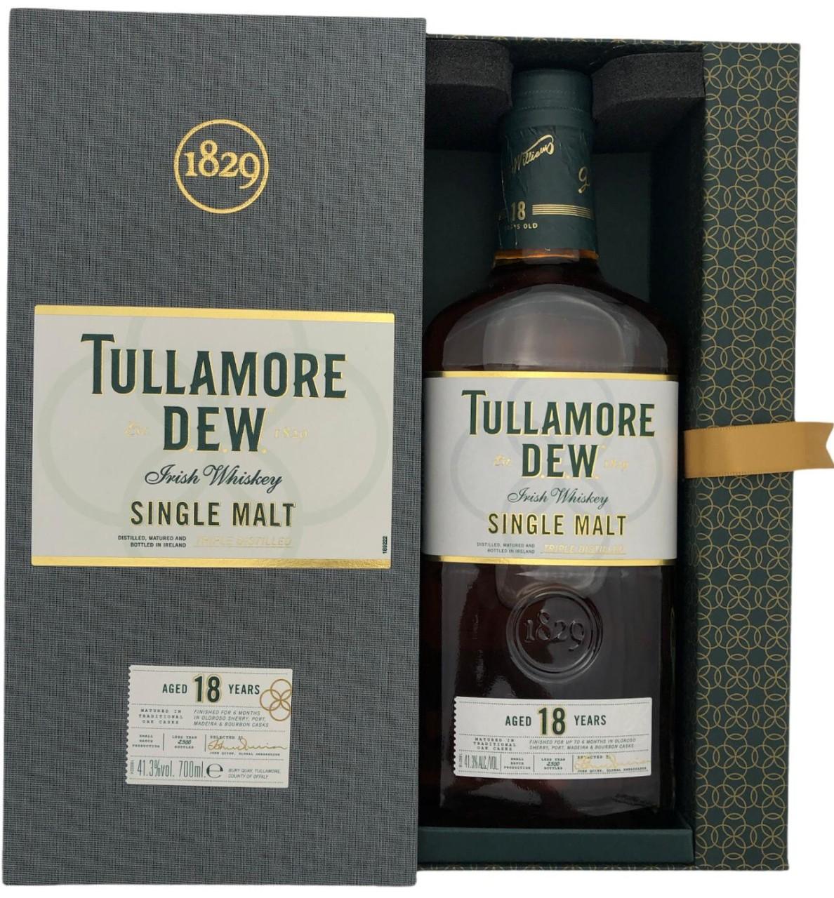 Tullamore Dew 18 Years Old Irish Single Malt in GP 0,7l