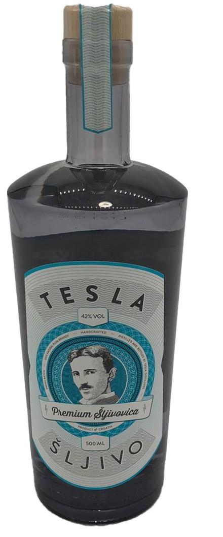 Tesla Šljivo – 500ml – Premium Šljivovica aus Kroatien