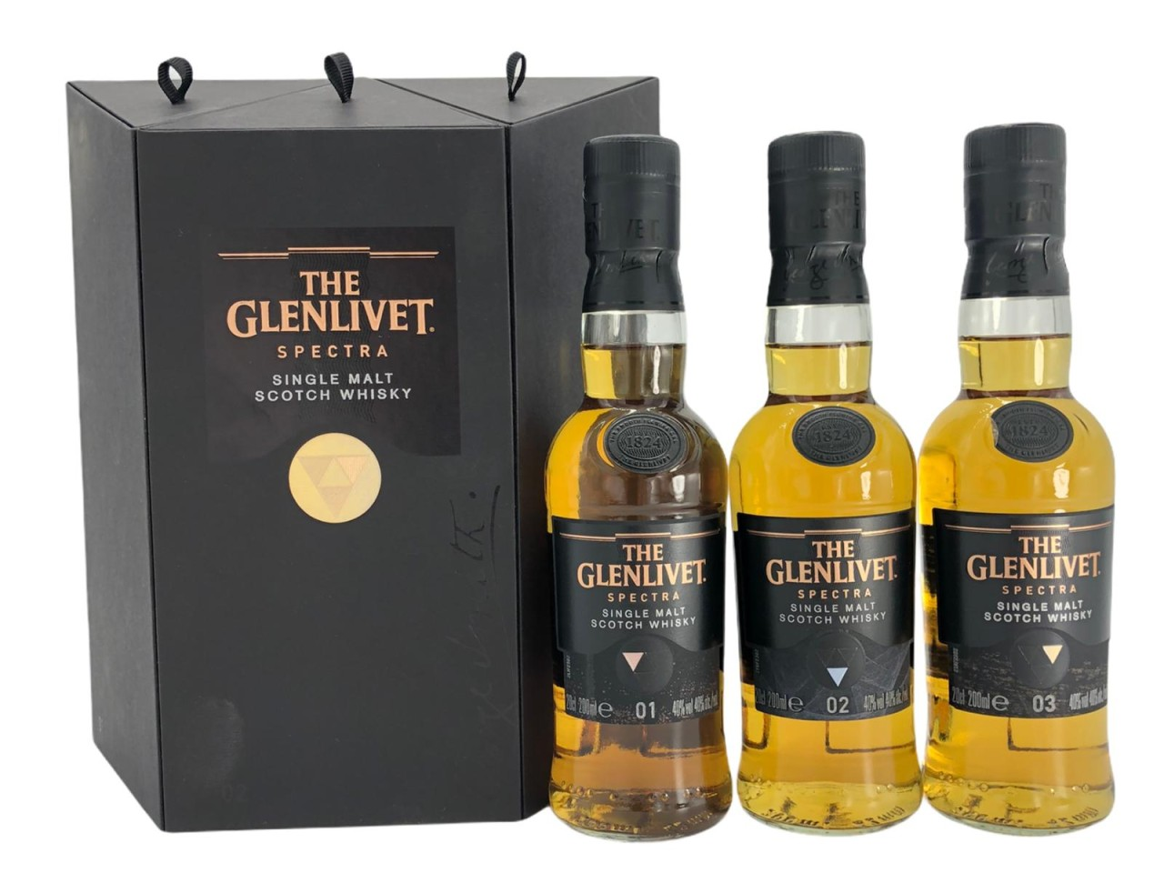 The Glenlivet Spectra Set Single Malt Scotch Whisky