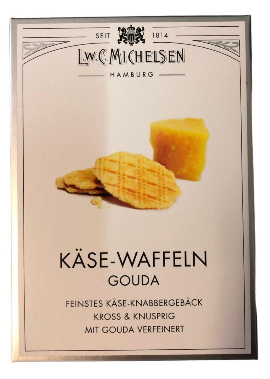 L.W.C. Michelsen Käse-Waffeln Gouda 100g
