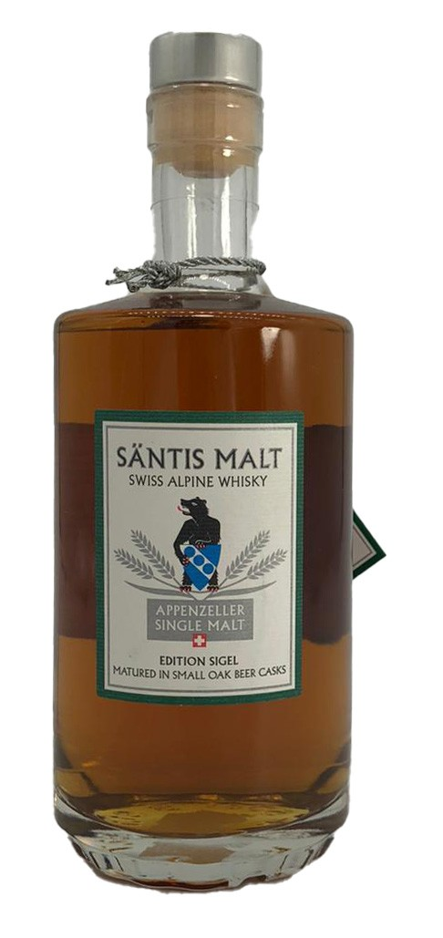 Säntis Malt Appenzeller Single Malt Edition Sigel 0,5 L