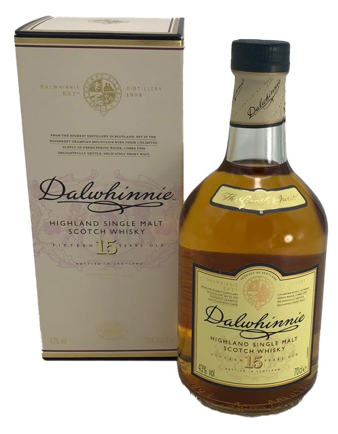 Dalwhinnie 15 Years Old Single Malt