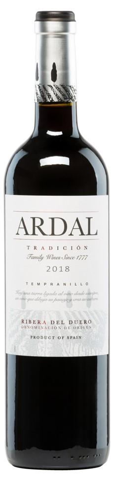 Ardal Tradicion Rotwein trocken 2018