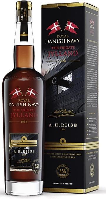 A.H. Riise Jylland Danisch Navy Rum
