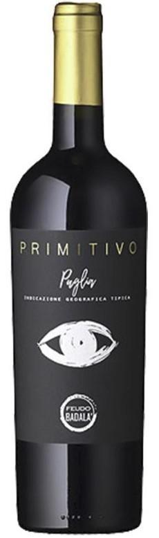 Feudo Badala Primitivo Rotwein 2019