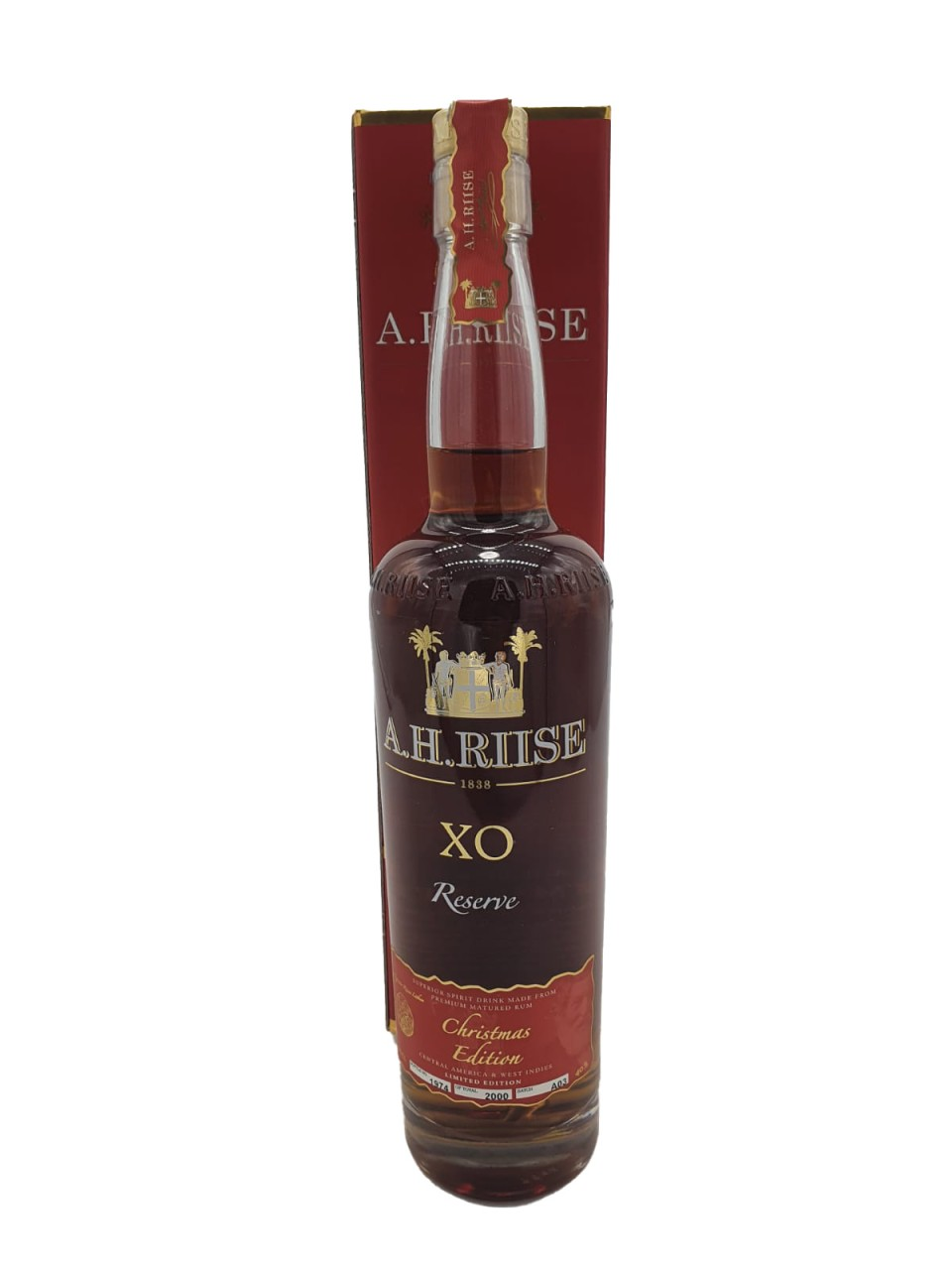 A.H. Riise Christmas Rum X.O. Reserve PX in GP
