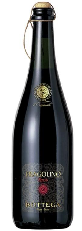 Fragolino Bottega Schaumwein Rosso lieblich