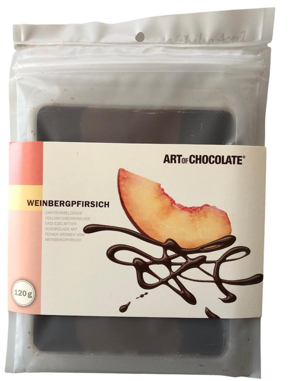 Art of Chocolate Weinbergpfirsich 120g