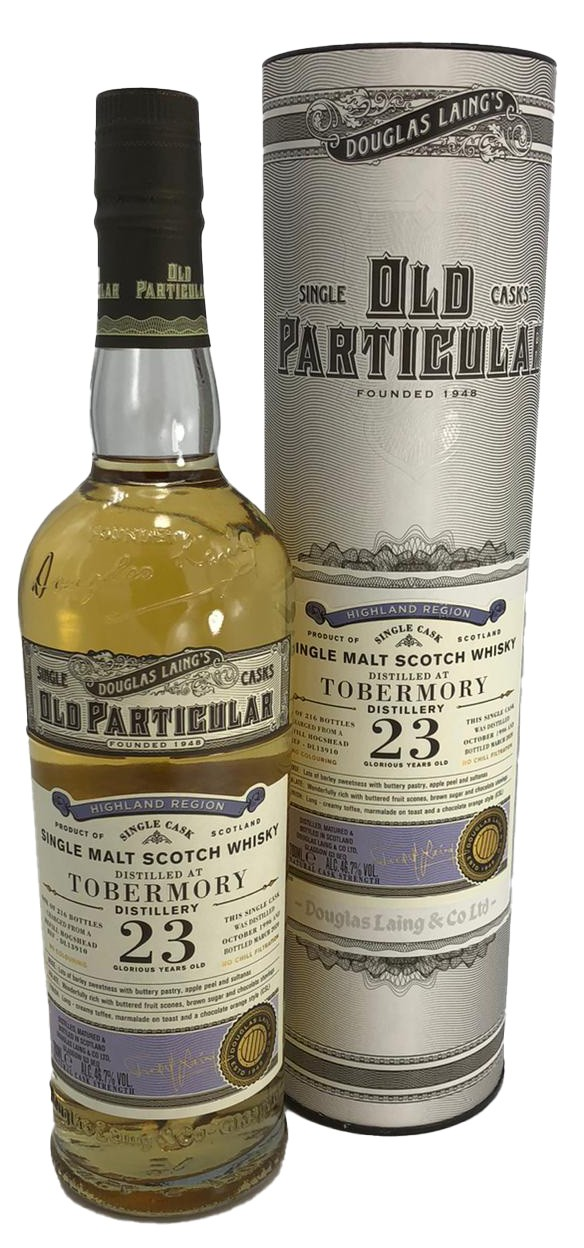 Old Particular Tobermory 23 Years Douglas Laing´s