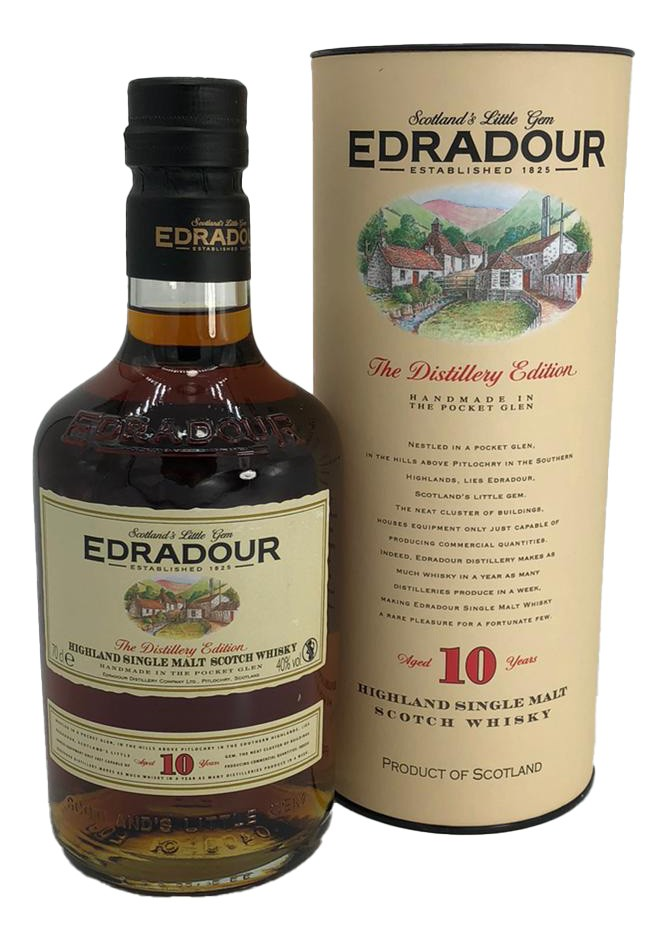 Edradour 10 Years Old Highland Single Malt