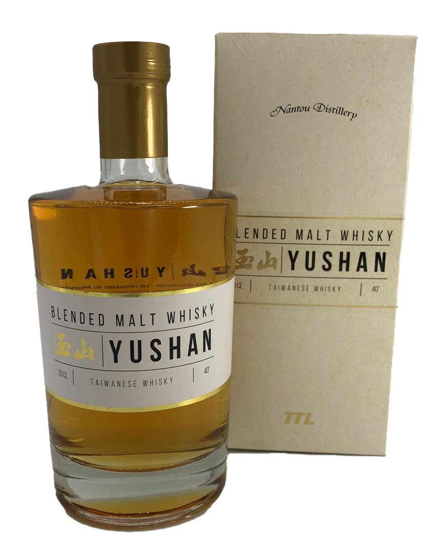 Yushan Blended Malt Whisky 40%vol. 0,7l