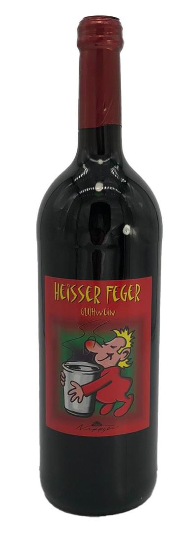 Heisser Feger rot Glühwein 1l
