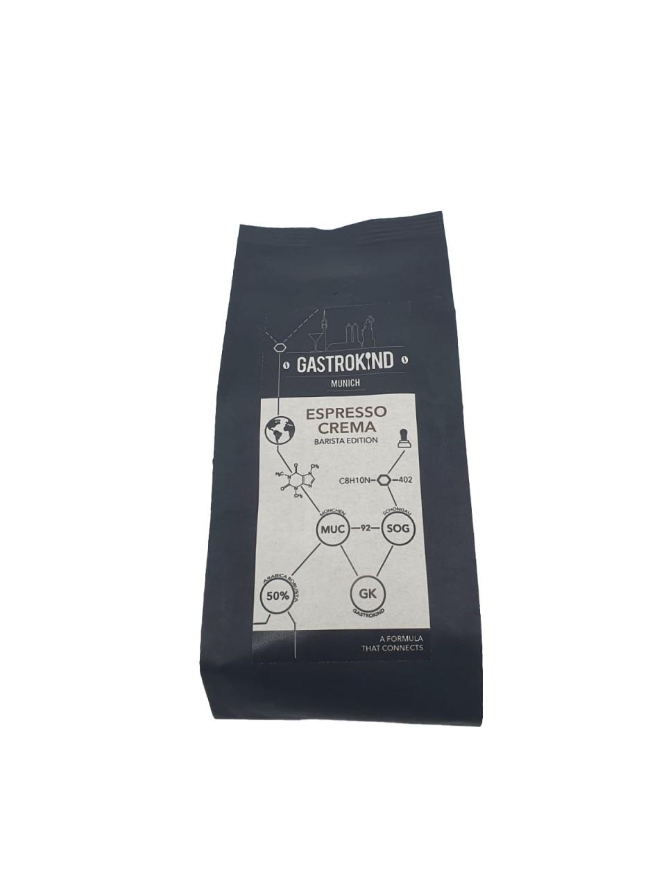 Gastrokind Espresso Crema Barista Edition 250 g ganze Bohne