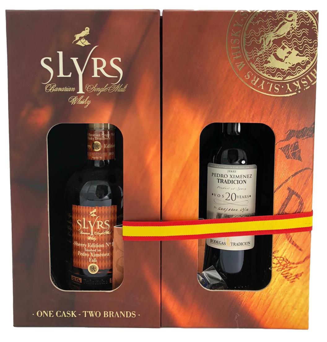 Slyrs Sherry Edition No 1 + Jerez Oloroso Tradicion - Vors 30 Years -