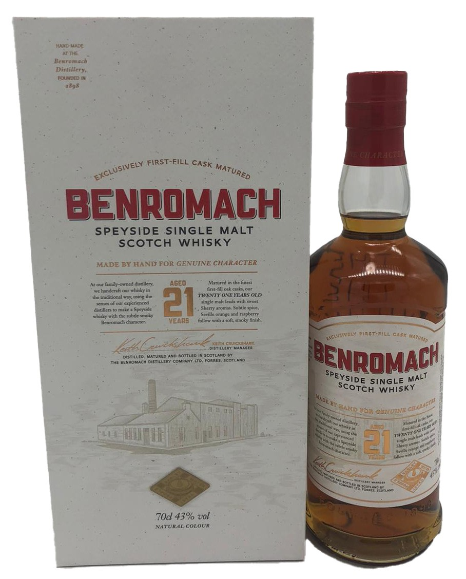 Benromach 21 Jahre Speyside Single Malt