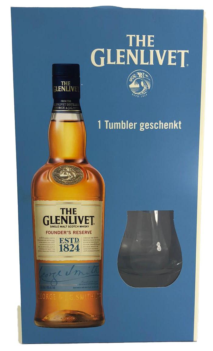 The Glenlivet 1 Tumbler geschenkt