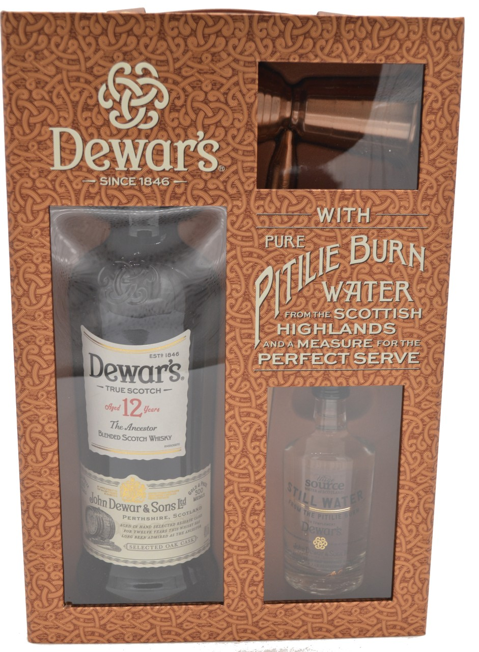 Dewar´s Pitilie Burn 12 Years Old with Pure Pitilie Burn & Water from the Scottish Highlands