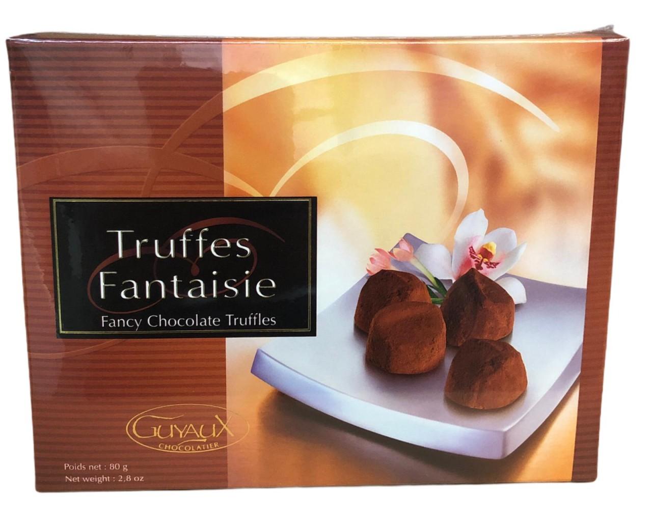 Guyaux Chocolatier Truffes Fantaisie 80 g
