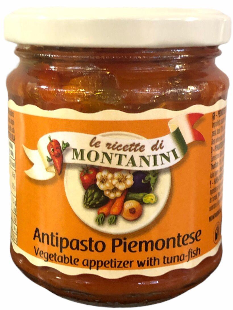 Antipasti Piemontese mit Thunfisch 190g