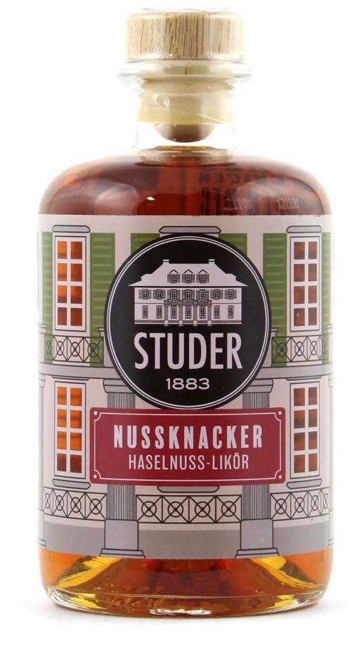 Studer Nussknacker Haselnuss-Likör 0,5l