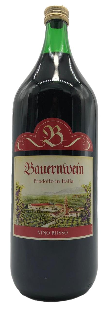 Burgwappen Italienischer Bauernwein 2 Liter Rotwein