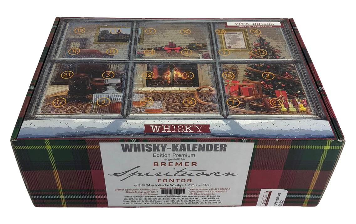 Whisky-Kalender Edition Premium (enthält 24 schottische Whiskys) a 20ml