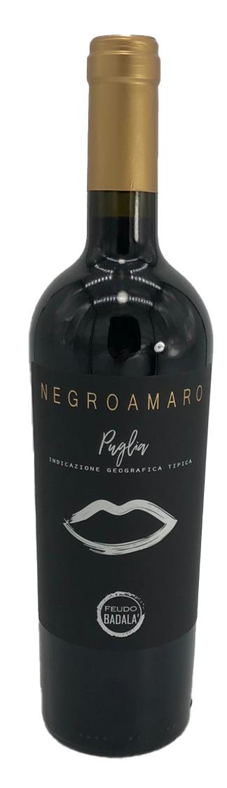 Feudo Badala Negroamaro Puglia Rotwein trocken 2019