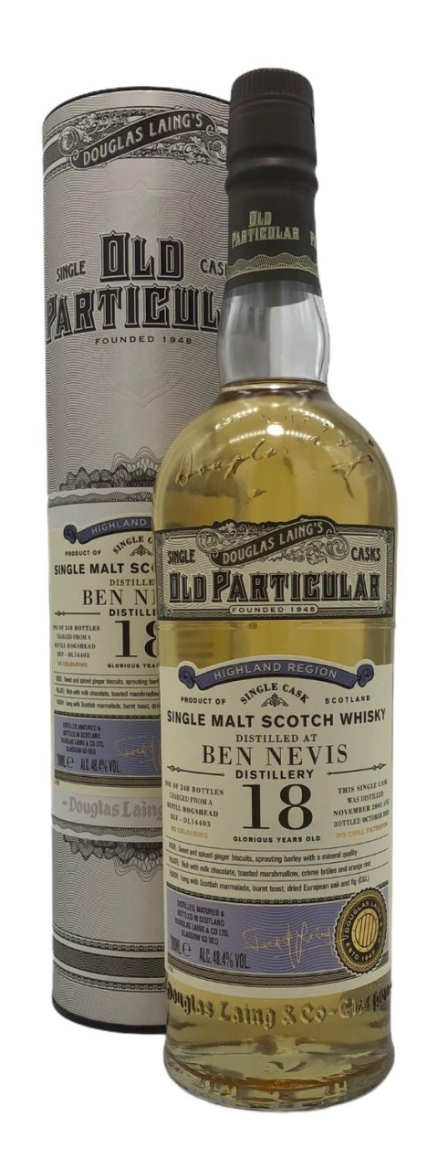OLD PARTICULAR Ben Nevis 18 Years Old 0,7l