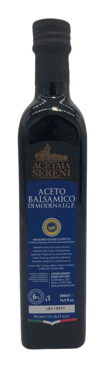 Acetaia Sereni Aceto Balsamico di Modena I.G.P Blue Label 500 ml