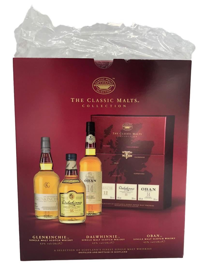 Classic Malt Gentle Set Geschenkset 3x