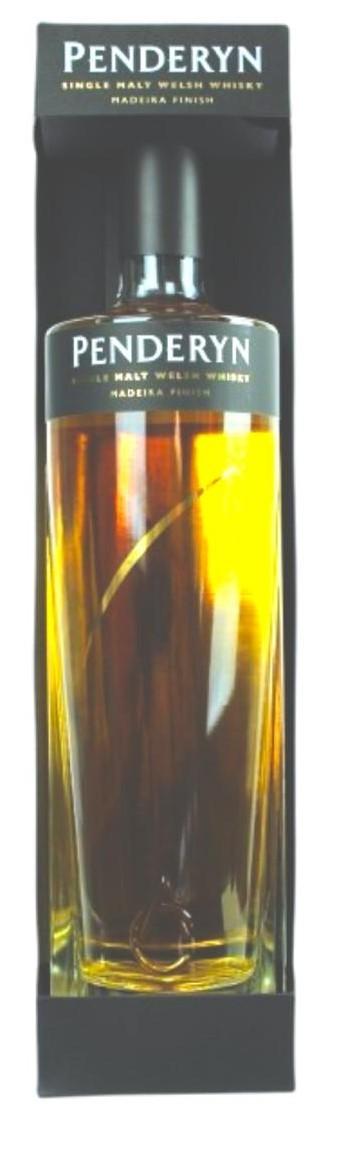 Penderyn Whisky Madeira Finished Aur Cymru