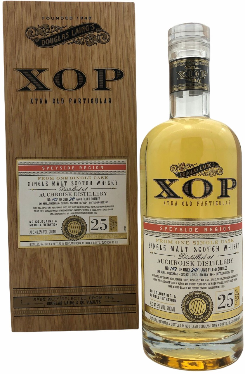 Auchroisk 25 Years Old XOP - Xtra Old Particular