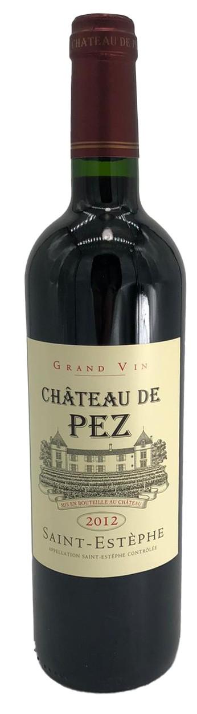 Chateau de Pez Rotwein Grand Vin AOC 2012