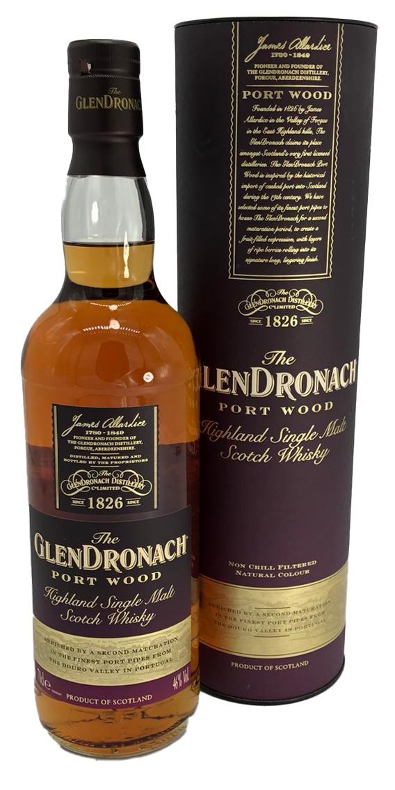 Glendronach Port Wood Highland Single Malt