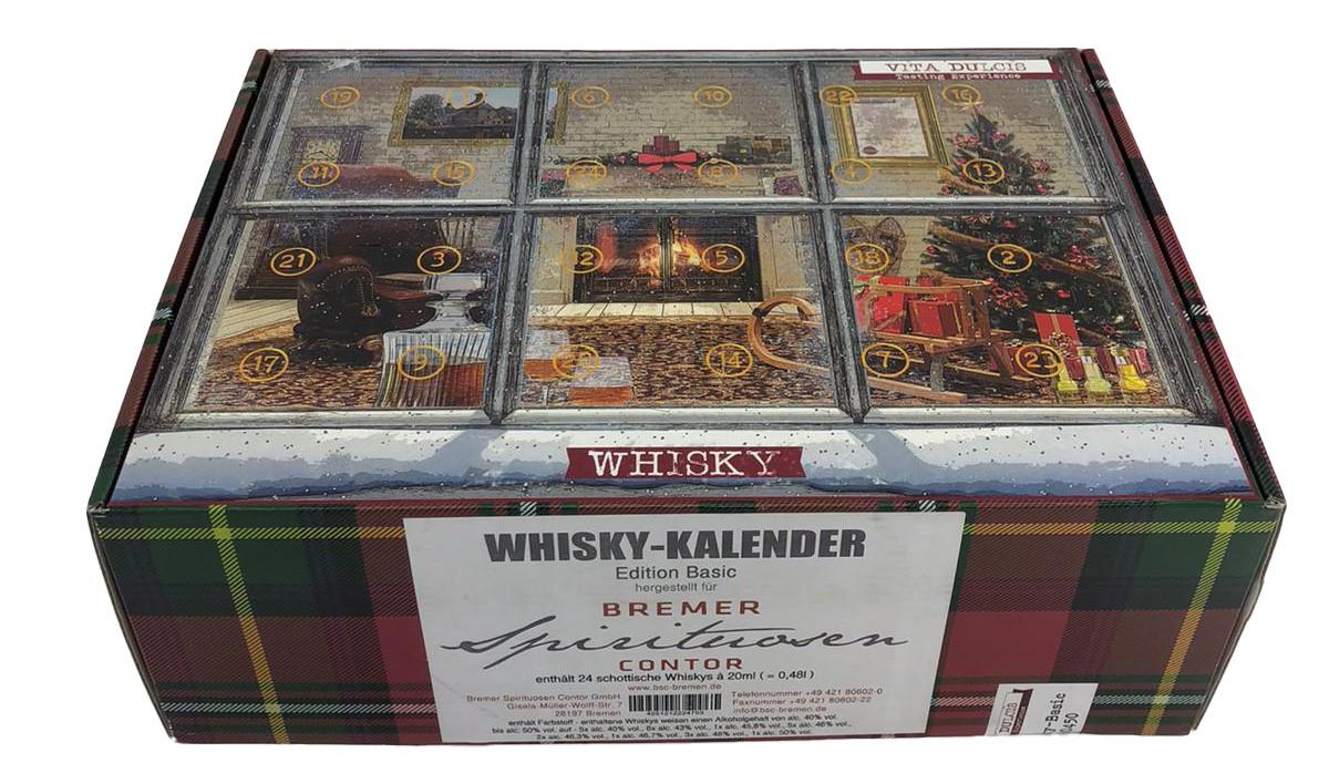 Whisky-Kalender Edition Basic (enthält 24 schottische Whiskys)
