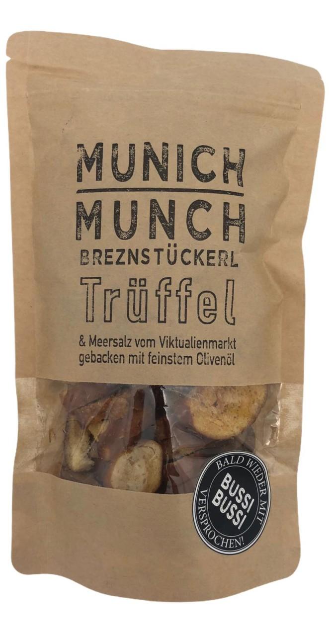 Munich Munch Brezenstückerl Trüffel & Meersalz vom Viktualenmarkt gebacken mit feinstem Olivenöl 90g