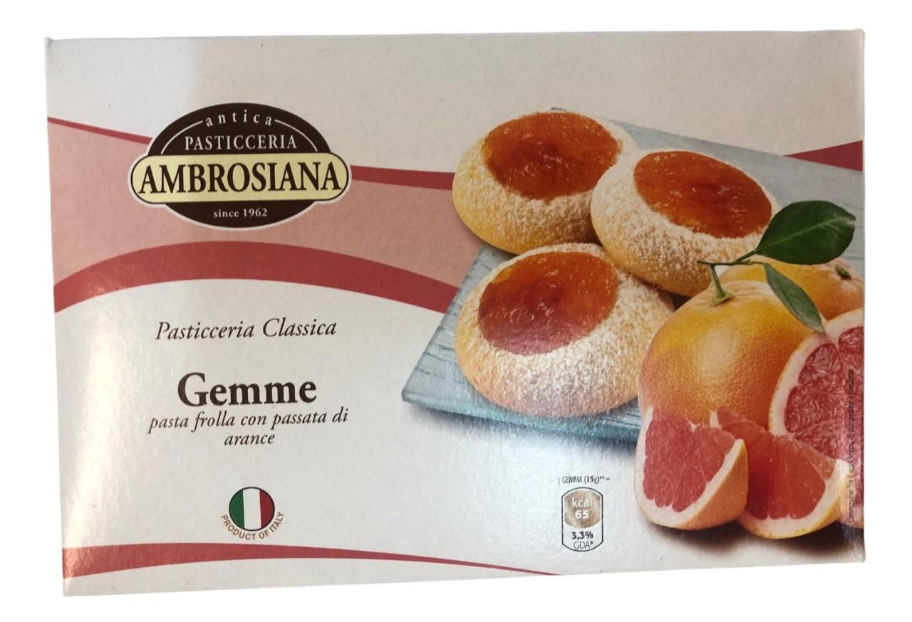 Pasticceria Ambrosiana Gemme Arance 150g