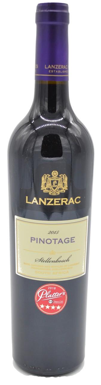 Lanzerac Pinotage Rotwein 2015