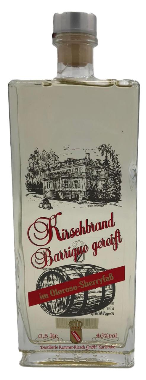 Kirschbrand Barrique gereift (im Oloroso-Sherryfaß) - Kammer - 0,5l