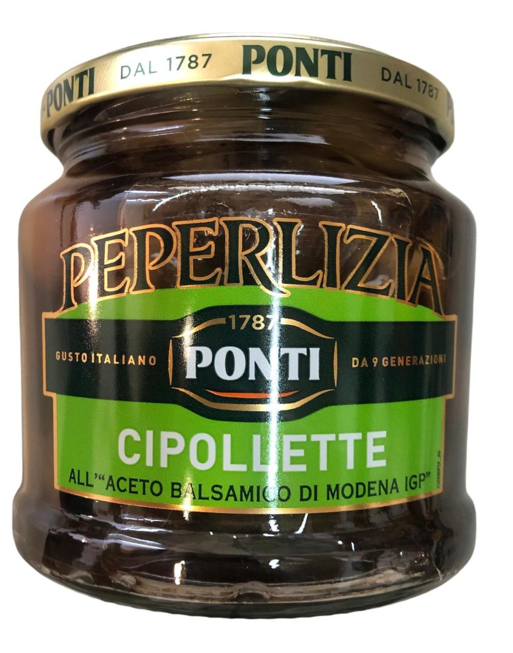 Ponti Le Cipolette Peperlizia 350g