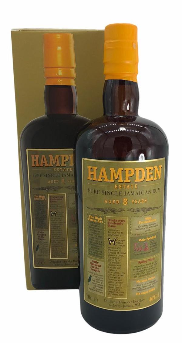 Hampden Pure Single Rum aus Jamaica