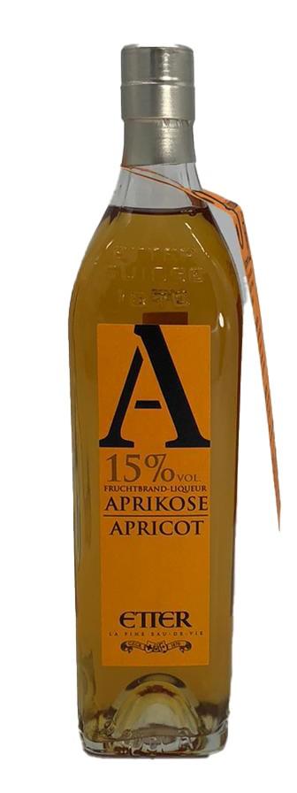 Etter Aprikose Apricot Fruchtbrand-Likör 0,35 L
