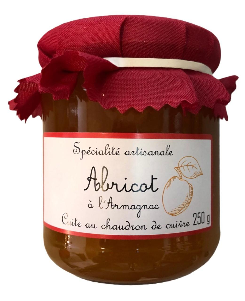 Cuite au chaudron de cuivze Aprikosenkonfitüre mit Armagnac 250g