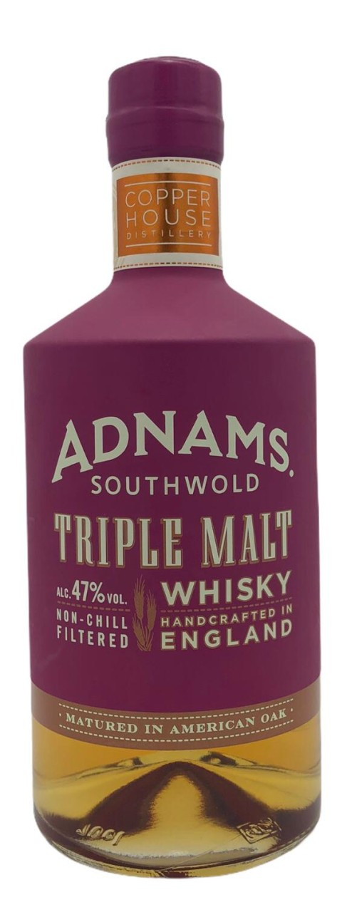 Adnams Whisky Triple Malt Handcrafted in England
