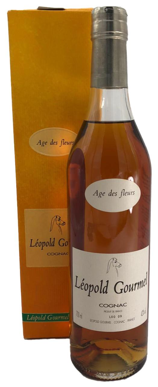 Léopold Gourmel Cognac Age des fleurs 0,7 l 42%