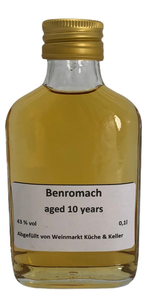 Benromach 10 Years Old 0,1 l