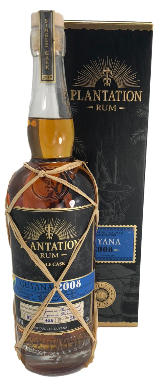 Plantation Guyana 2008 Single Cask Collection 2019, Zebra Cask Finish