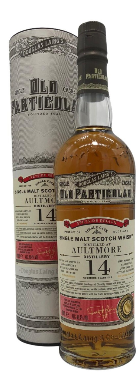 OLD PARTICULAR Aultmore 14 Years Old 0,7l