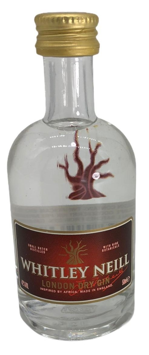 Whitley Neill London dry Gin 50ml