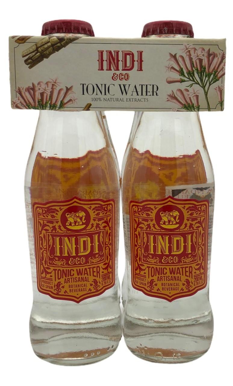 Indi & Co Botanical Tonic Water 4x 0,2l